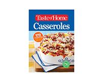Cookbook Design | Taste of Home Casseroles