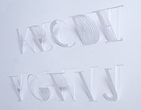 Three Dimensional Alphabet