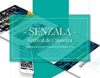 One Page festival de Capoeira, groupe Senzala