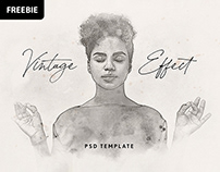 Free Download: Vintage Watercolor Photoshop Effect
