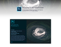 Adobe Photoshop CC 2017 Splash Screen Redesign