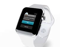 uPaid Wallet - Apple Watch version