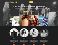 WEB | Fashion website