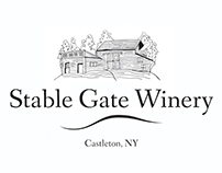 Stable Gate Winery illustrations