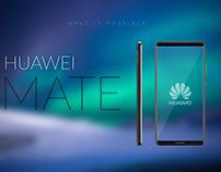 Huawei Mate 10 - Artwork idea