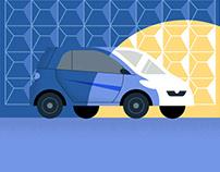 Auto.ru journal illustrations