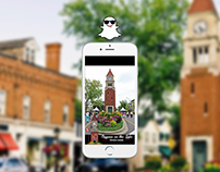 Snapchat Geofilters (UI Design)