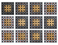 Andromedids 6, Linocut, 2015, 2x2,7m