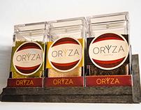 Oryza Exotic Rice Packaging Design