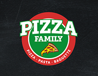 Pizza Family | Rebranding & New Menu Design