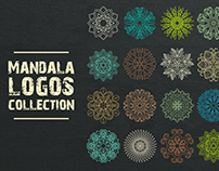Mandala logos collection