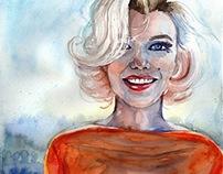 IT GRILS! watercolor portraits