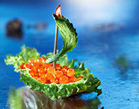 Flagman Seafood 2015.Creative calendar