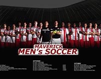 Men's Soccer Team Poster