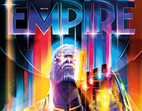 EMPIRE MAGAZINE-THANOS Vector Cover Commission