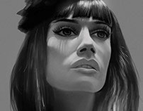 Digital Portrait Paintings