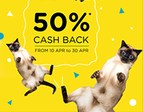 HostelHunting.com | Cash Back Campaign Ads