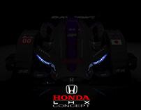 Honda LHX-01 Concept [Michelin Design Challenge 2017]