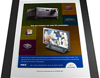 Product Print Ad | NEC Technologies | Advertising