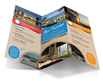 Mavi Panorama Boutique Hotel Trifold Broschure