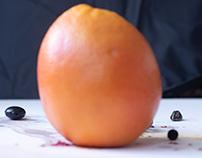 L'orange et le noir