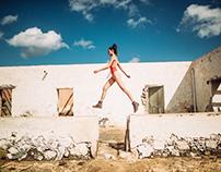 Hanna Fischer at Lanzarote