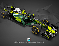 2019 AMR Red Bull Concept Livery.