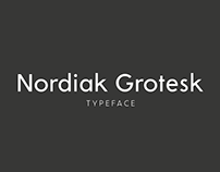 Nordiak Grotesk Typeface