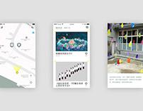 In-Between AR art tour app