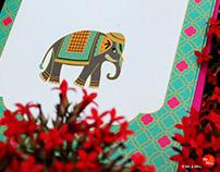 Wedding Invite Design for Mayank & Deepti