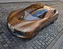 Exterior Design for BMW Vision Next100-World Tour(2016)
