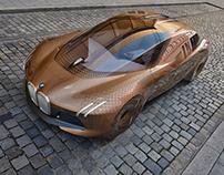 Exterior Design for BMW Vision Next100-World Tour(2016)