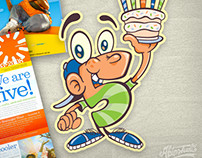 EdVenture Birthday Character