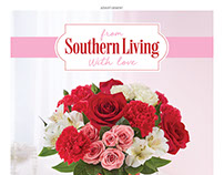 Ad for Southern Living Flowers Collection