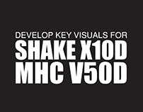 Key Visuals for X10D & V50D