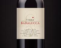 Etichetta Vigna Badalucca