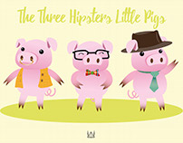 The Three Hipsters Little Pigs