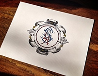 St. Stephen's hand-lettered Monogram