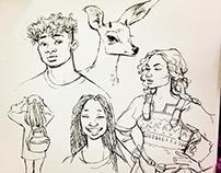 Sketchbook & Observational Drawing / Spring