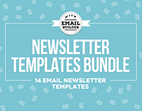 Massive Email Newsletter Template Bundle With Builder