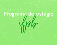 Programa de estágio - IFPB