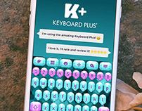 Diamonds Keyboard Theme