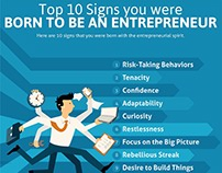 Top 10 Signs You Were Born To Be An Entrepreneur