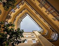 Budapest inner courtyards No. 1