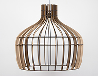 Luchtschip - Oval pendant lamps