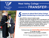 Metro Ads for West Valley College