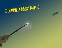 April Fools' Day Digital Campaign