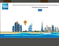 AmEx Experience UAE microsite