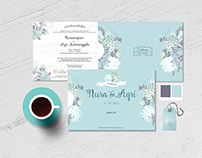 Nura & Agri Wedding Invitation
