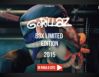 HotSite | Box Promocional - Gorillaz